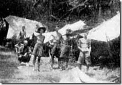 Prisoners in Kanchanaburi death camp